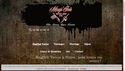 Site internet de Magi'Ink