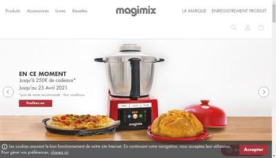 Site internet de Magimix