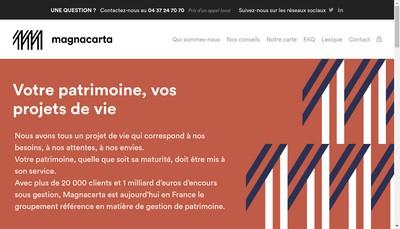 Site internet de Fip Patrimoine