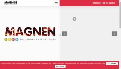 Site internet de Societe Magnen