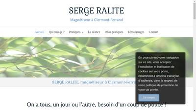 Site internet de Serge Ralite