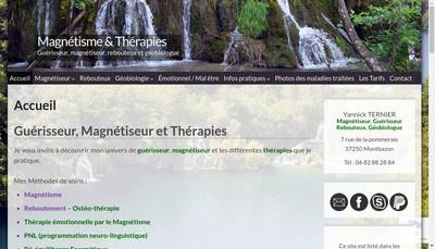 Site internet de Yannick Ternier