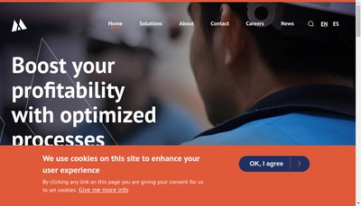 Site internet de Magotteaux SA