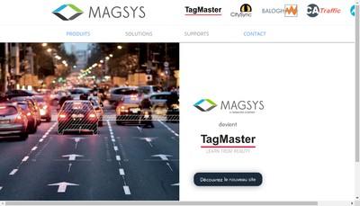 Site internet de Magsys