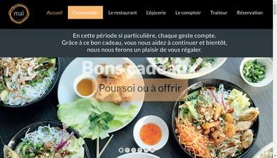 Site internet de Mai One