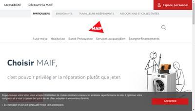 Site internet de Filia Maif