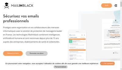 Site internet de Mailinblack