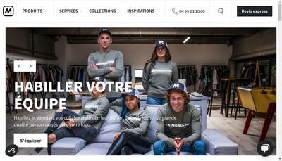 Site internet de Main Gauche