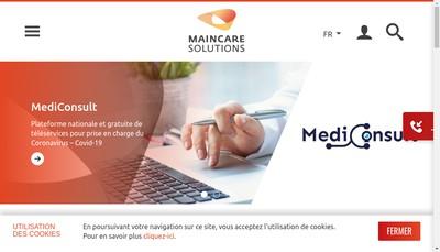 Site internet de Maincare Solutions