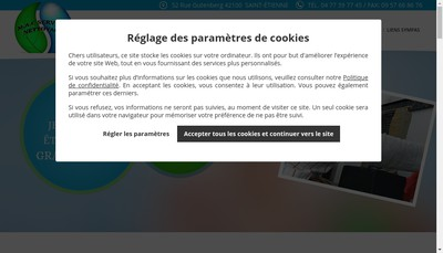 Site internet de MAC Services