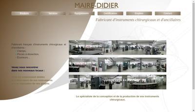 Site internet de Maire-Didier