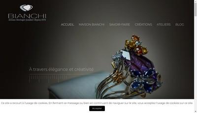 Site internet de Bianchi