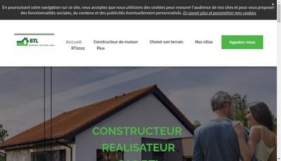 Site internet de Btl