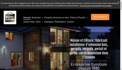 Site internet de Maison et Cloture