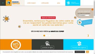 Site internet de Maison et Services