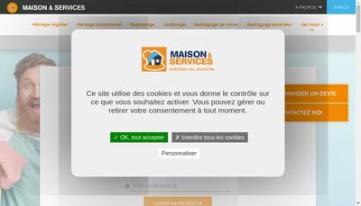 Site internet de Leonard Services