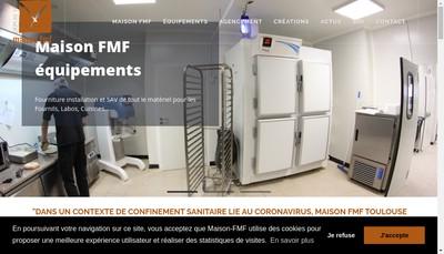 Site internet de Maison Fmf