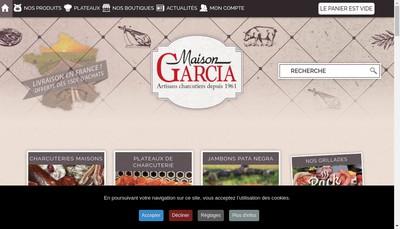 Site internet de Garcia