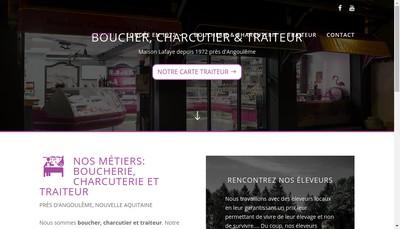Site internet de Societe Ruelloise des Viandes