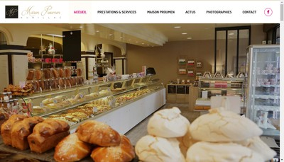 Site internet de Maison Proumen