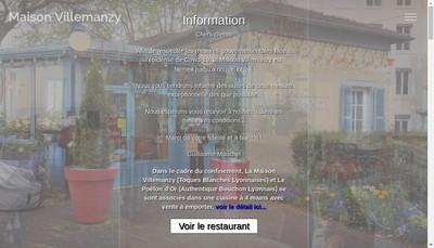 Site internet de Maison Villemanzy
