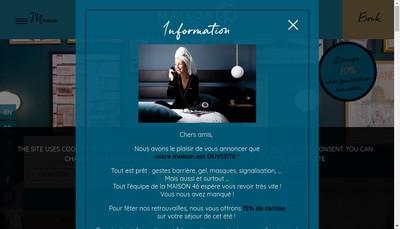 Site internet de Best Western Eiffel Cambrone