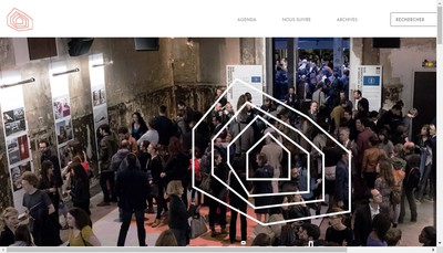 Site internet de Maison de l'Architecture en Idf
