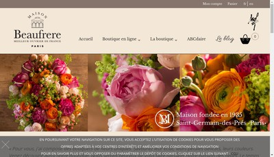 Site internet de Beaufrere