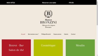 Site internet de Les Boutiques du Moulin de la Chartreuse