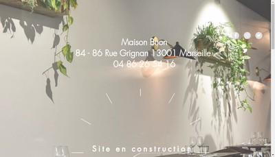 Site internet de Madame Jeanne