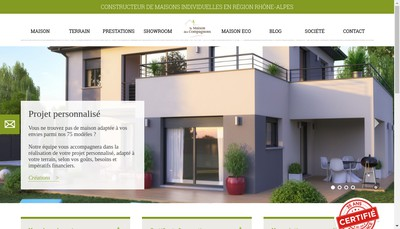 Site internet de La Maison des Compagnons