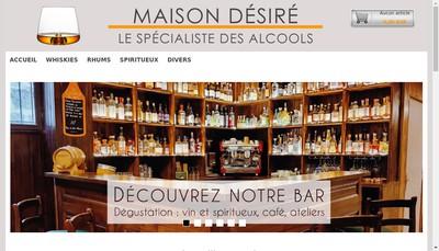 Site internet de Maison Desire Coffee Tean And Whisk