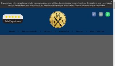 Site internet de Maison des Vins