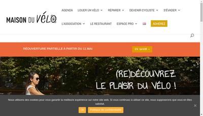 Site internet de Le Velo Sentimental