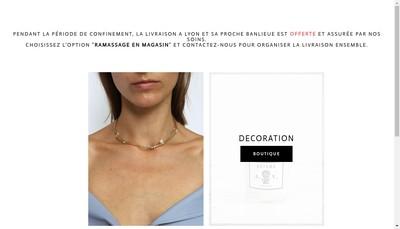 Site internet de Maison Franc