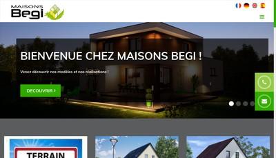 Site internet de Begi Plus