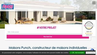 Site internet de Maison Low Cost - Punch - Primareve