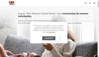 Site internet de Maisons Claude Rizzon Mediterranee