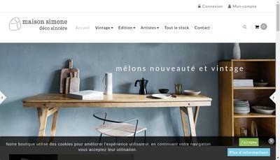 Site internet de Nantes Deco