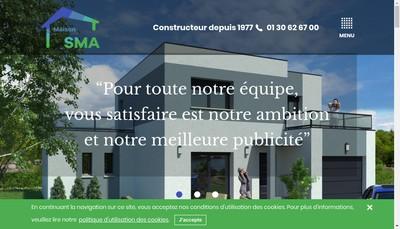 Site internet de Maison SMA