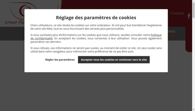 Site internet de Armor Plan Concept