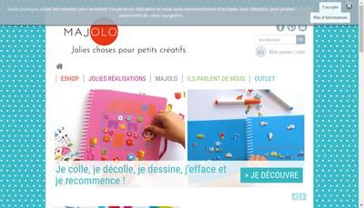 Site internet de Majolo