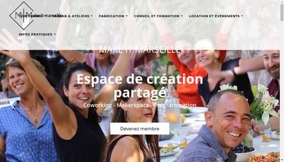 Site internet de Make It