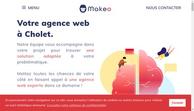 Site internet de Makeo