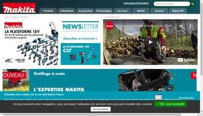 Site internet de Makita France SAS