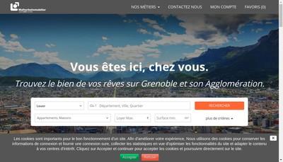 Site internet de Malherbe Immobilier