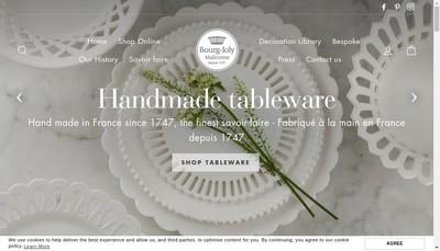 Site internet de Bourg Joly Malicorne