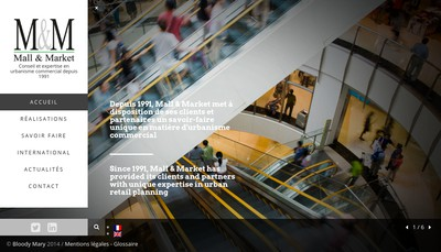 Site internet de Mall & Market