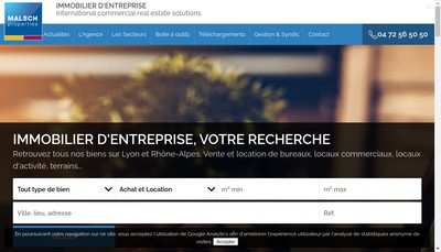 Site internet de Bernard Malsch Associes