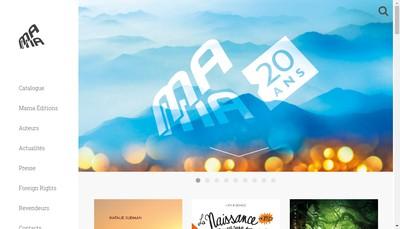Site internet de Mamaeditions